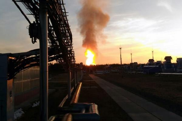 Подачу газа на повреждённом участке сразу же приостановили