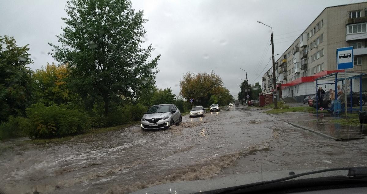 В Нижнем Новгорода разыгралась непогода