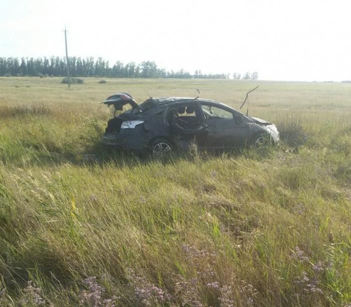 28-летняя девушка не справилась с управлением: фото с места аварии