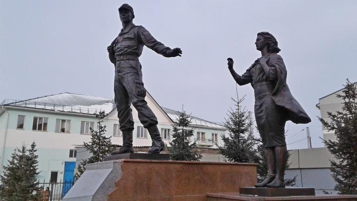 Первая в России скульптура призывнику появилась в Красноярске