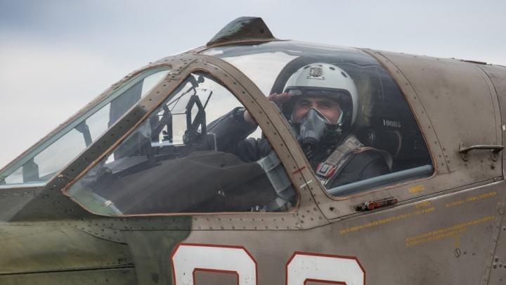 Лётчики довольны: на учениях под Челябинском штурмовики «уничтожили» бронетехнику противника