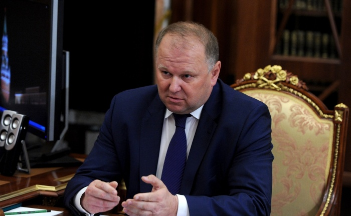 Николай Цуканов на встрече с президентом