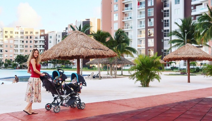 Семья с 4 детьми из Красноярска переехала в Мексику: о жизни на Карибах, ценах и рождении двойни