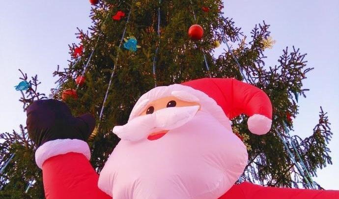 Живая ёлка, Дед Мороз и мешки подарков: рядом с Кольцово устроят новогодний праздник для всей семьи