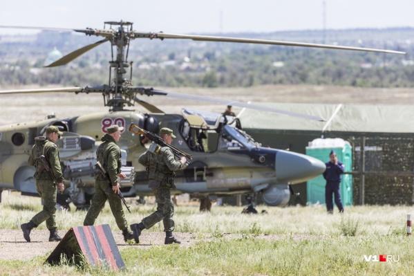 Военные утверждают, что такого волгоградцы еще не видели