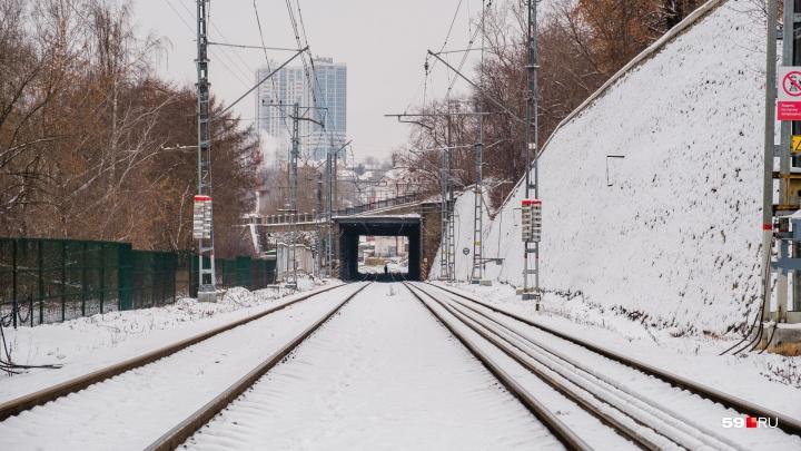 В Перми могут перенести срок закрытия железнодорожной ветки вдоль набережной