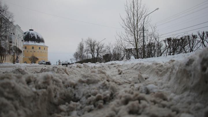 «Пойдёмте выйдем!» и «Вот такой слой каши»: как депутаты ругали ПДУ за плохую уборку Архангельска