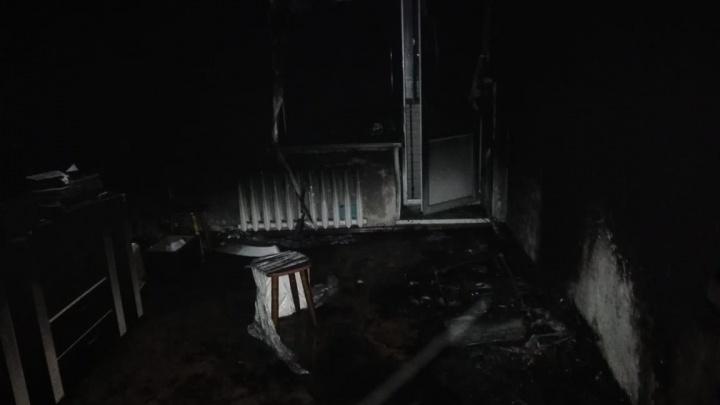 В Башкирии в пожаре пострадала 60-летняя женщина