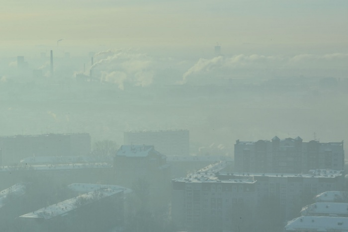Концентрация загрязняющих веществ в воздухе превышена из-за штиля