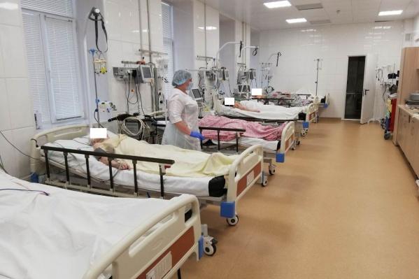 Теперь в реанимации и интенсивной терапии одновременно могут находиться 8 пациентов