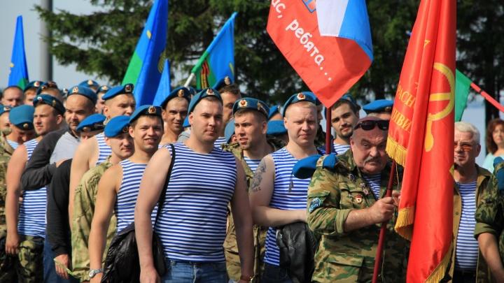 Рукопашные бои, митинг и полевая кухня: как отметят День ВДВ в Архангельске