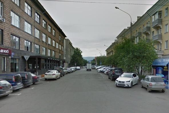 Администрация Красноярска заказывает работы по благоустройству центральной улицы