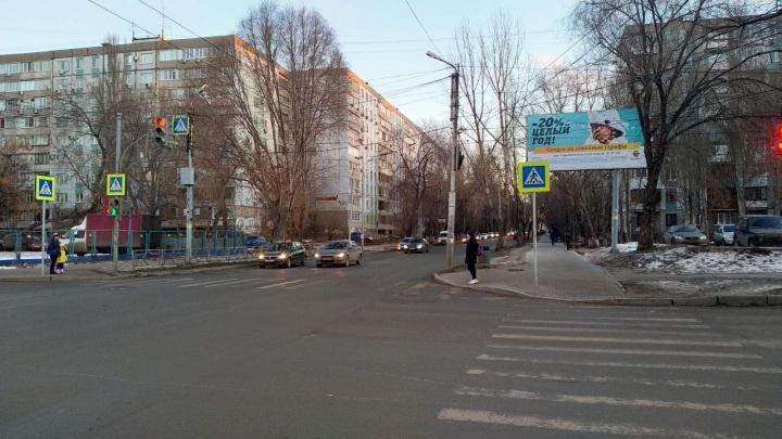 В Самаре изменили режим светофора на пересечении Владимирской и Коммунистической