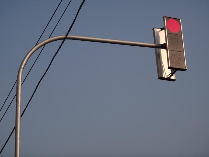 Светофоры отключат в двух местах на Чуйском тракте