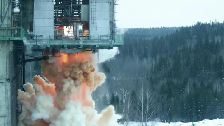 В Перми испытали двигатель РД-276, который отправит ракету в космос