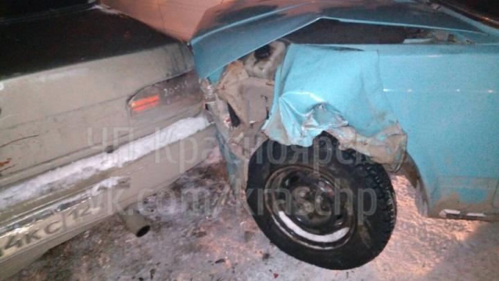 Пойман устроивший аварию с тремя авто и убежавший от ДПС подросток на «Жигулях»