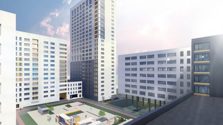 Стали известны подробности о комплексе, который построят на месте снесённого жилья у «Парк Хауса»