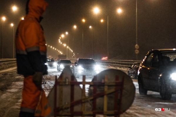 Водителей просят не садиться за руль в такую погоду
