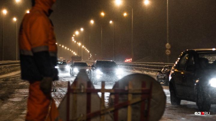 «Оставайтесь дома»: из-за снегопада в Самарской области установили оранжевый уровень опасности