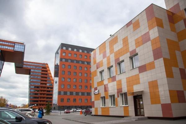Теперь лаборатория «БиоЛинк» располагается на территории Технопарка