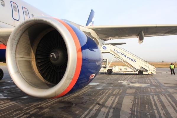 Вчера в Шереметьево совершил экстренную посадку самолёт «Аэрофлота»