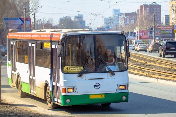 На линии работают 27 автобусов