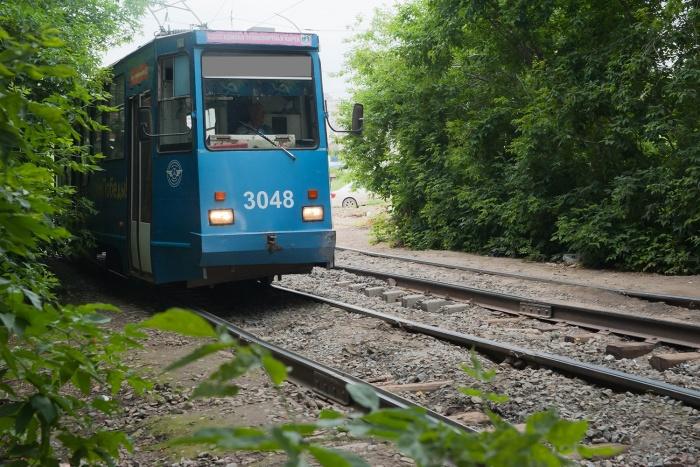 Ремонт путей остановит движение трамваев  № 11  и 14