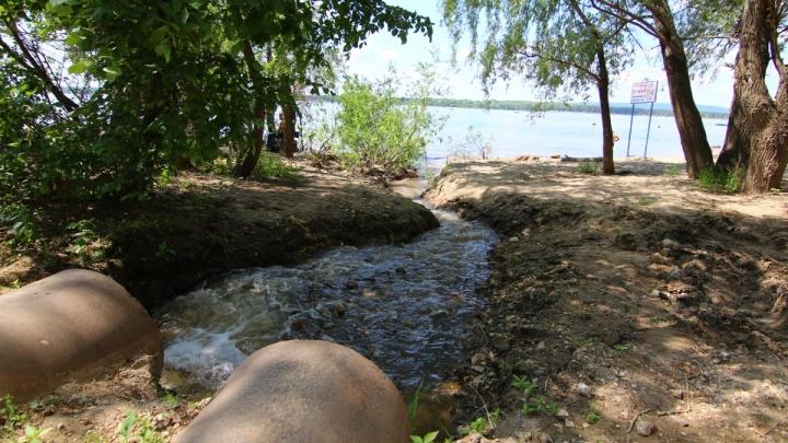 Водоснабжающая компания незаконно сливала канализационные стоки в реку Безенчук