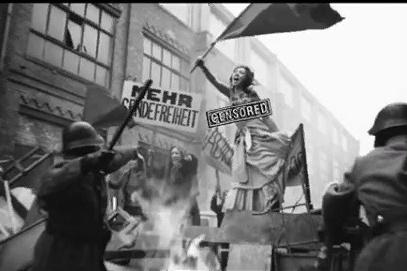 Для большей исторической аутентичности клип сделали черно-белым