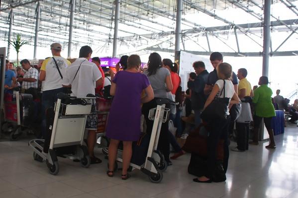 Туристы должны были вылететь 30 октября