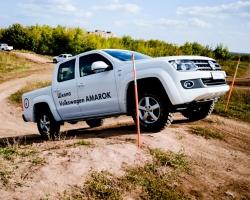 Школа Amarok: секреты вождения на бездорожье
