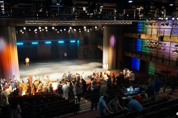Новый корпус театра ввели в эксплуатацию в декабре 2018 года