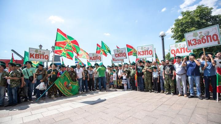 Зеленые фуражки: на Дону отметили День пограничника