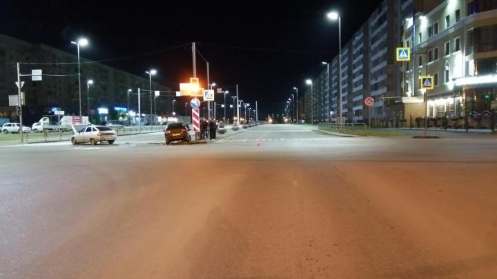 Водитель скрылся: ГИБДД Кургана ищет очевидцев ДТП на перекрестке Гоголя— Бурова-Петрова
