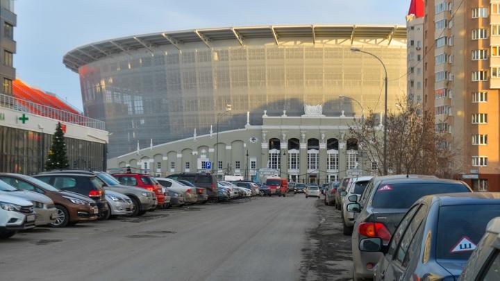 В среду на улицах возле Центрального стадиона изменится схема движения