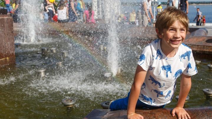 В Волгоградскую область вернулась 32-градусная жара