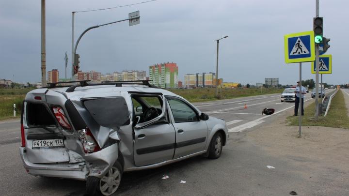 Четверо детей пострадали в аварии под Южноуральском