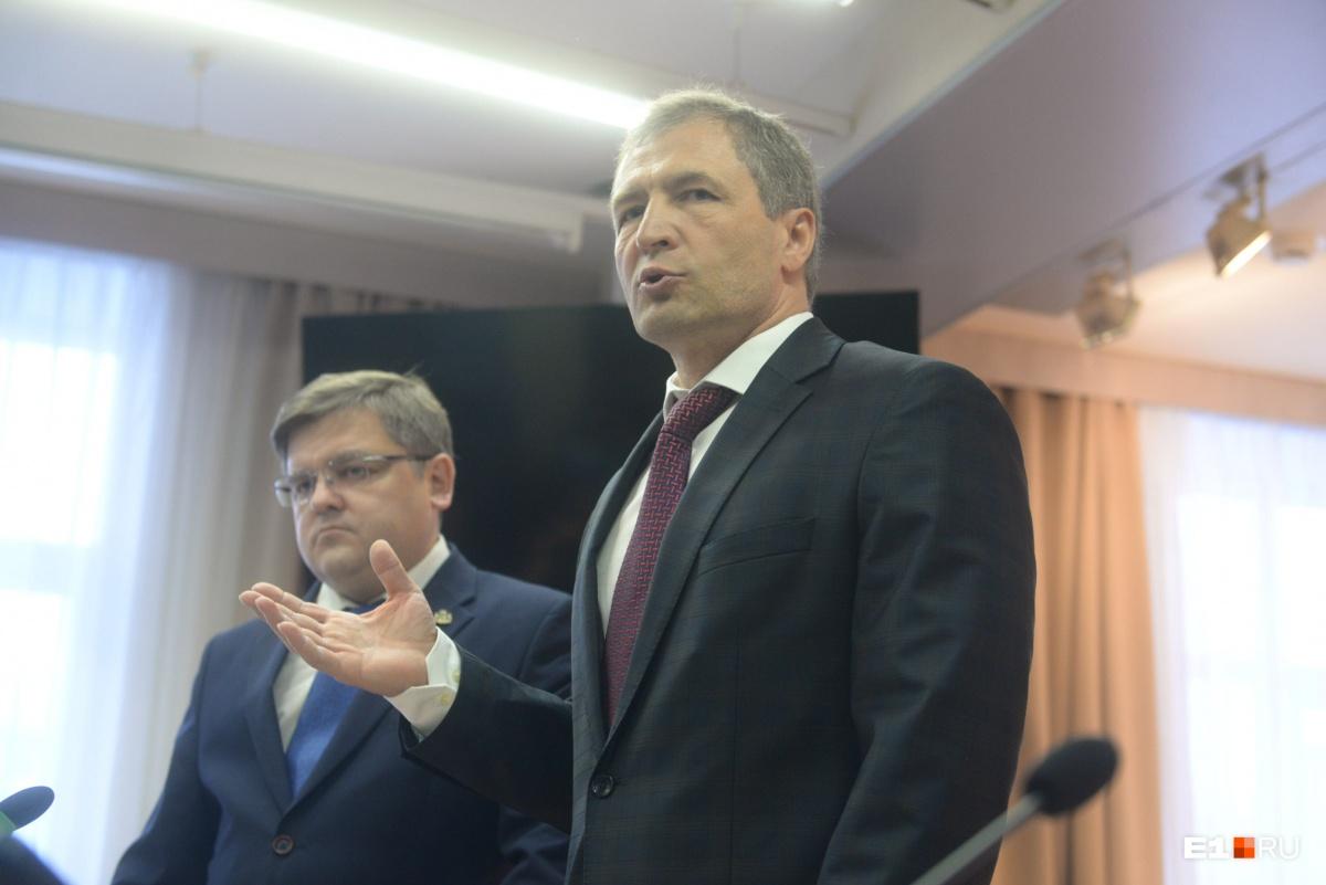Игорь Володин (справа) и Илья Захаров