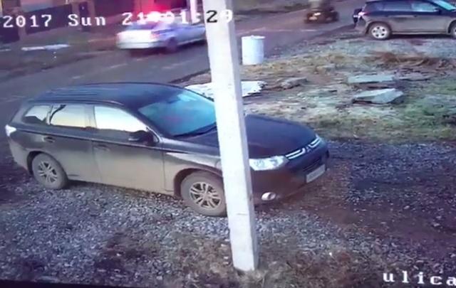 Видео: в Уфе дорожные полицейские устроили погоню за квадроциклом
