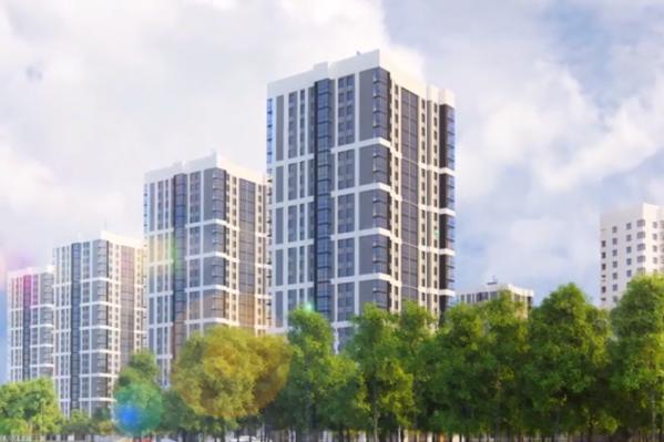 Новый район займет 125 гектаров