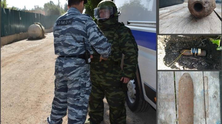 В башкирской деревне нашли артиллерийский снаряд времён Гражданской войны