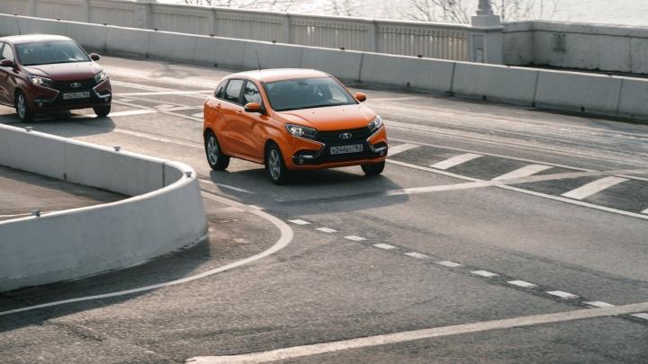 Lada XRAY уже готова покорять дороги Екатеринбурга