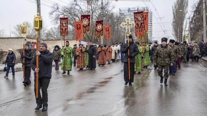 Волгоградские чиновники и депутаты пройдут крестным ходом в 100-летие репрессий против казачества