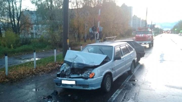 В Рыбинске в ДТП ВАЗа с автобусом пострадали люди