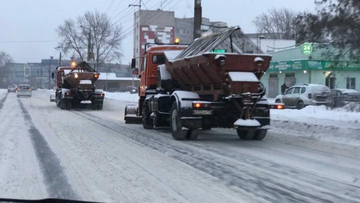 Губернатор потребовал всю дорожную технику в Челябинской области оснастить системой ГЛОНАСС