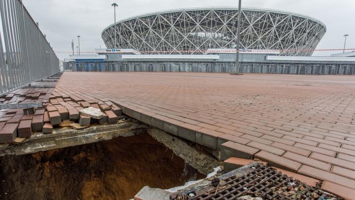 Волгоград под водой: в городе убирают последствия большого дождя