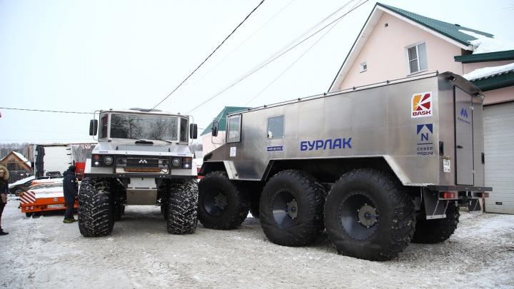 Поедут по снегам, льдам и воде: из Екатеринбурга отправили «Бурлаки» для экспедиции на Чукотку