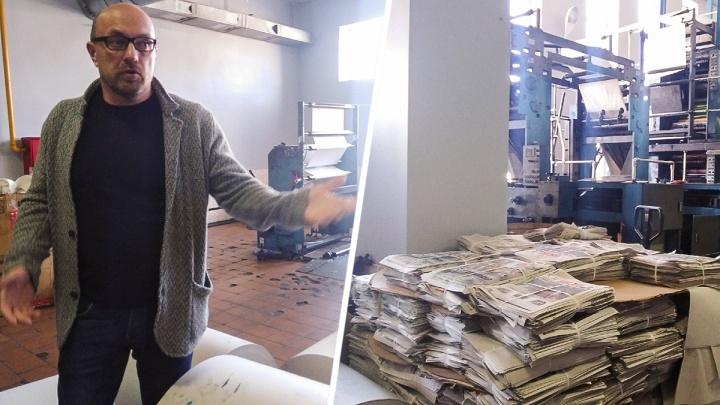 Остановить работу донской типографии «Крестьянин» могут из-за неисправных лампочек и пыли