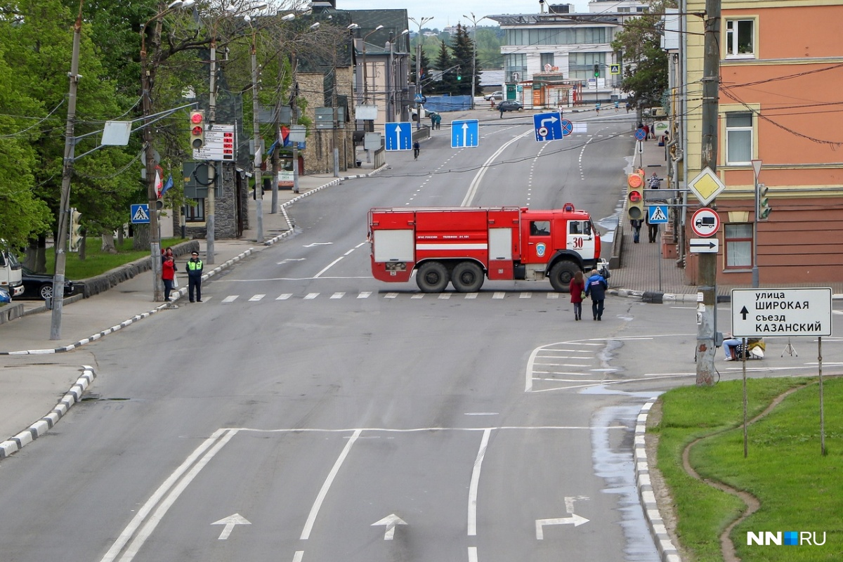 Нижне-Волжская набережная будет недоступна для водителей в течение всего 17 августа