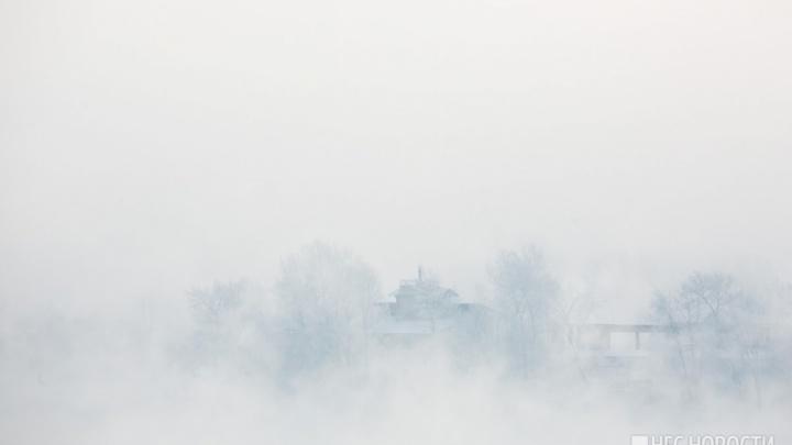 Назван день, когда из Красноярска начнут отступать морозы